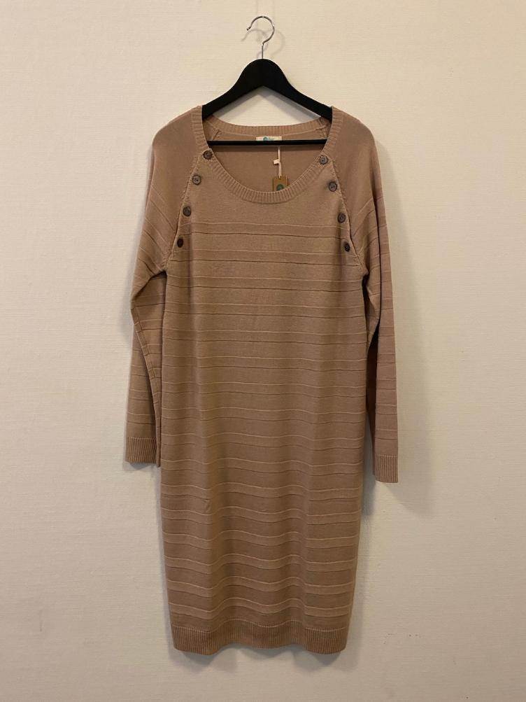 LUCKY Stillkleid Beige